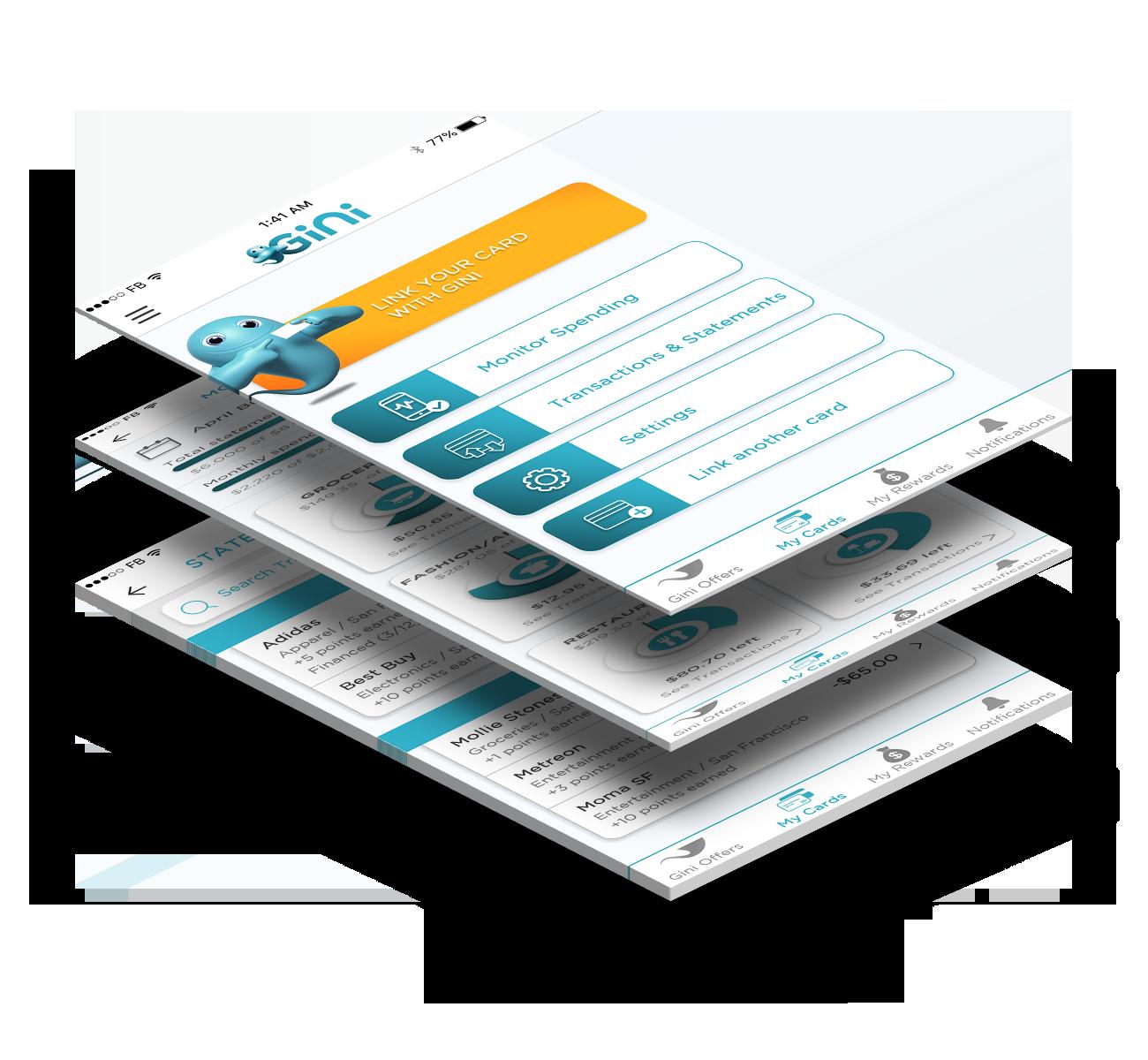 Increase customer loyalty and decrease customers churn with myGini banking app